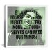 <strong>iCanvasArt</strong> Bob Marley Quote Canvas Wall Art