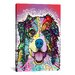 iCanvasArt 'Australian Shepherd' by Dean Russo Graphic Art on Canvas