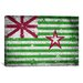 <strong>Austin, Texas Flag - Grunge Painted Cracks Graphic Art on Canvas</strong> by iCanvasArt