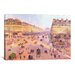 <strong>iCanvasArt</strong> 'Avenue de L'Opera'  by Camille Pissarro Painting Print on Canvas