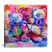 "<strong>iCanvasArt</strong> ""Bears"" Canvas Wall Art by Richard Wallich"
