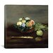 "<strong>iCanvasArt</strong> ""Basket of Fruit"" Canvas Wall Art by Edouard Manet"