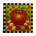 "<strong>iCanvasArt</strong> ""Be Bop a Lula Apple"" Canvas Wall Art by Shelly Bedsaul"
