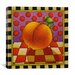 "<strong>iCanvasArt</strong> ""Be Bop a Lula Peach"" Canvas Wall Art by Shelly Bedsaul"