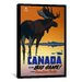 <strong>Canada for Big Game (Travel Canadian Pacific) Vintage Advertisement...</strong> by iCanvasArt