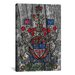 <strong>Canada, Coat of Arms #7 Graphic Art on Canvas</strong> by iCanvasArt