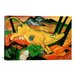 <strong>iCanvasArt</strong> 'Yellow Cow' by Franz Marc Painting Print on Canvas