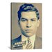 <strong>iCanvasArt</strong> Charlie 'Lucky' Luciano - Gangster Mugshot Photographic Print on Canvas