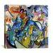 "iCanvasArt ""All Saints Day II"" Canvas Wall Art by Wassily Kandinsky Prints"