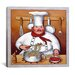 """<strong>""""Chef 4"""" Canvas Wall Art by John Zaccheo</strong> by iCanvasArt"""