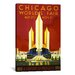<strong>iCanvasArt</strong> Chicago World's Fair 1933 Vintage Advertisement on Canvas