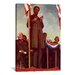 <strong>'Abraham Lincoln Delivering the Gettysburg Address' by Norman Rockw...</strong> by iCanvasArt