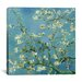 "<strong>""Almond Blossom"" Canvas Wall Art by Vincent van Gogh</strong> by iCanvasArt"
