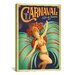 <strong>iCanvasArt</strong> 'Carnaval - Rio De Janeiro, Brazil' by Anderson Design Group Vintage Advertisement on Canvas