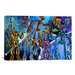 <strong>Kids Children Cartoon Robots Canvas Wall Art</strong> by iCanvasArt