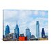iCanvasArt Panoramic Buildings in a City, Comcast Center, Center City, Philadelphia, Philadelphia County, Pennsylvania Photographic Print on Canvas