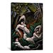 <strong>iCanvasArt</strong> 'Adoration of the Moon' by Max Weber Painting Print on Canvas