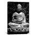 <strong>iCanvasArt</strong> Asian Buddha Photographic Print on Canvas