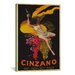 <strong>iCanvasArt</strong> Asti Cinzano by Leonetto Cappiello Vintage Advertisement on Canvas