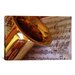 <strong>iCanvasArt</strong> Photography Saxophone Photographic Print on Canvas