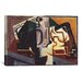 <strong>'Glas und Karaffe' by Juan Gris Graphic Art on Canvas</strong> by iCanvasArt