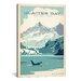 iCanvasArt 'Glacier Bay' by Anderson Design Group Vintage Advertisement on Canvas