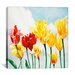 "<strong>iCanvasArt</strong> ""Essence of Spring"" Canvas Wall Art by Nancy Wernersbach"