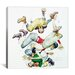 'First Down (Four Sporting Boys: Football)' by Norman Rockwell Pain... by iCanvas
