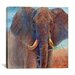 "<strong>iCanvasArt</strong> ""Giant Elephant"" Canvas Wall Art by Cory Carlson"