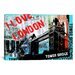 """<strong>""""I Love London"""" by Luz Graphics Graphic Art on Canvas</strong> by iCanvasArt"""