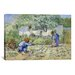 iCanvasArt 'First Steps (after Millet)' by Vincent van Gogh Painting Print on Canvas