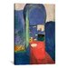 iCanvasArt 'Entrance to the Kasbeh, 1912' by Henri Matisse Painting Print on Canvas