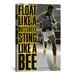 iCanvasArt Float like a Butterfly Sting Like a Bee by Muhammad Ali Graphic Art on Canvas