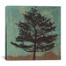 "<strong>iCanvasArt</strong> ""Evergreen"" Canvas Wall Art by Erin Clark"