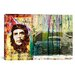 """iCanvasArt """"Correos #75"""" by Luz Graphics Graphic Art on Canvas"""