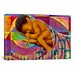 <strong>'In His Hands' by Keith Mallett Graphic Art on Canvas</strong> by iCanvasArt