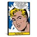 <strong>iCanvasArt</strong> 'In Love with Her (Roy Lichtenstein - Comic Books)' Graphic Art on Canvas