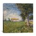 """<strong>""""Farmhouse in a Wheat Field"""" Canvas Wall Art by Vincent van Gogh</strong> by iCanvasArt"""