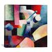 """<strong>""""Colored Composition of Forms"""" Canvas Wall Art by August Macke</strong> by iCanvasArt"""