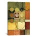 iCanvasArt Decorative Art 'Color Colage II' by Pablo Esteban Painting Print on Canvas