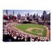 <strong>iCanvasArt</strong> Panoramic Home of the Detroit Tigers Baseball Team Comerica Park, Detroit, Michigan Photographic Print on Canvas