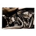iCanvasArt Photography Harley Motorcycle Photographic Print on Canvas