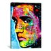 <strong>iCanvasArt</strong> 'Elvis Presley' by Dean Russo Graphic Art on Canvas
