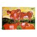 iCanvasArt 'Cows (after Jordaens)' by Vincent van Gogh Painting Print on Canvas