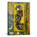 <strong>iCanvasArt</strong> 'Courtesan (after Eisen)' by Vincent van Gogh Painting Print on Canvas