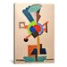 iCanvasArt 'Composition Cubiste' by Auguste Herbin Painting Print on Canvas