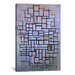 <strong>'Composition 6, 1914' by Piet Mondrian Painting Print on Canvas</strong> by iCanvasArt