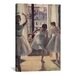 <strong>Drei Tanzerinnen by Edgar Degas Painting Print on Canvas</strong> by iCanvasArt