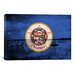 <strong>Minnesota Flag, Grunge Lake Graphic Art on Canvas</strong> by iCanvasArt