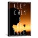 <strong>Keep Calm and Be Free Textual Art on Canvas</strong> by iCanvasArt